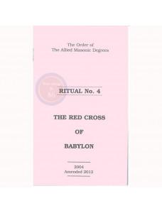 Allied Masonic Degrees Ritual No 4