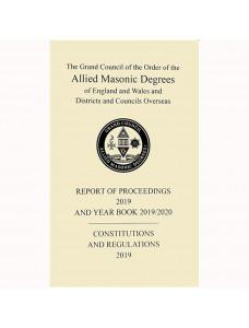 Allied Masonic Degrees Year Book