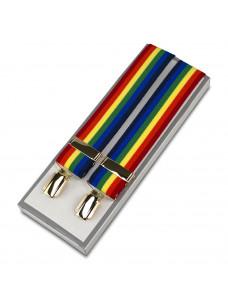 Masonic Braces - Multi Coloured