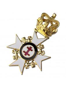 Kt Past Preceptor & Prior's Collarette Jewel      (no Name)