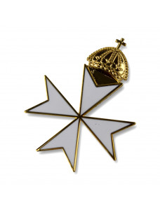 Knights Malta Priors Cap Badge Loose