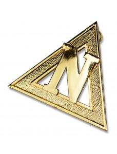 Ram Grand Officer/pcn Collar Jewel Metal Gilt