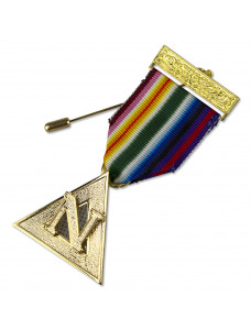 Ram Pcn Breast Jewel Gilt For Grand Officers