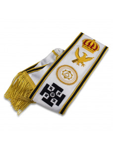Khs Grand Officers Sash Hand Embroidered Best Quality