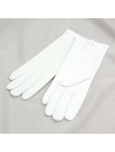 White Gloves - Ladies Size