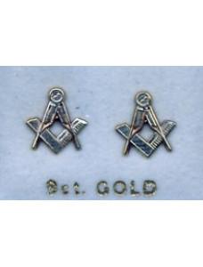 Craft Pierced Earrings 9ct Gold