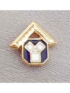 Craft Lapel Pin Enamel Past Master Motif