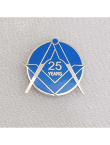 Lapel Pin - Craft 25 Year