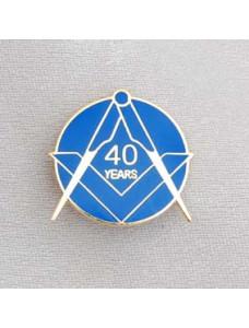 Lapel Pin - Craft 40 Year