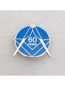 Lapel Pin - Craft 60 Year