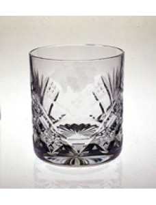 G347  Glass Whisky Tumbler  With  S & C Motif