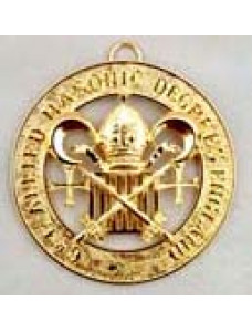 """Allied  Grand Officer Past Active  Collarette Jewel -  1 5/8"""""""