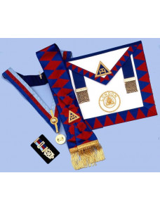 Ra  Provincial Set - Apron, Sash, Collar,jewel & Small Breast Jewel
