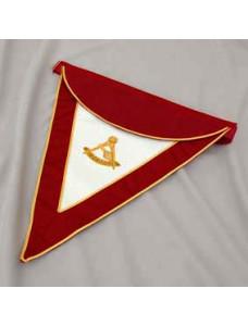 Past T.i. Master Apron - Lambskin   - Hand Embroidered Emblem (r&sm)