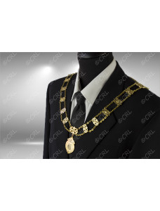 """Civic Chain of Office - """"Consort"""" - Style 17"""