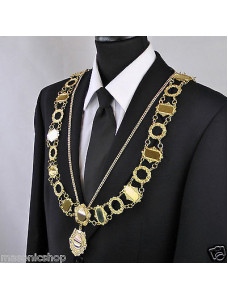 """Civic Chain of Office - """"Cathedral"""" - Style 1"""