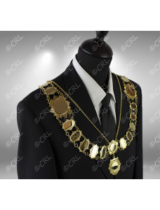 """Civic Chain of Office - """"Officer"""" - Style 2"""